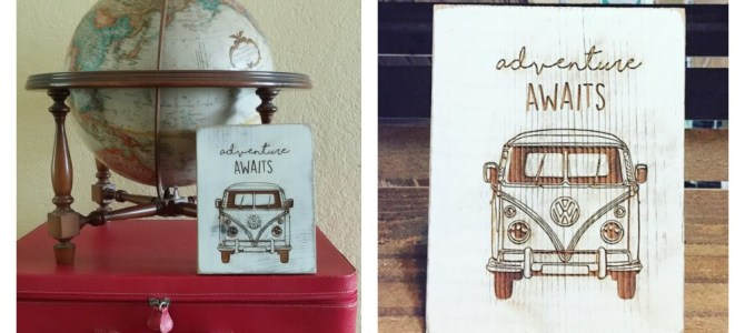 Travel-Inspired Art by Roxy Heart Vintage