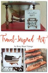 travel-inspired art