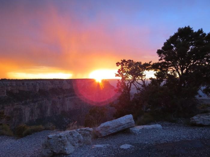 south rimof Grand Canyon
