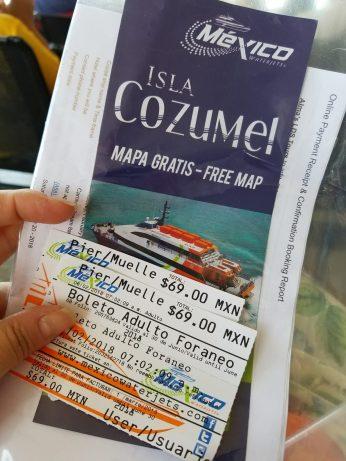 Cozumel ferry tickets