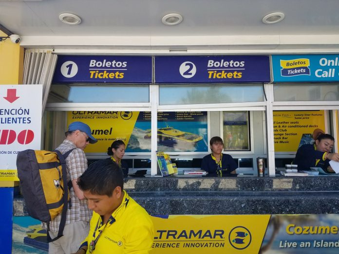 Cozumel Ultramar ferry
