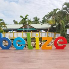 Belize photo op