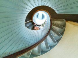 Cabrillo lighthouse staircase