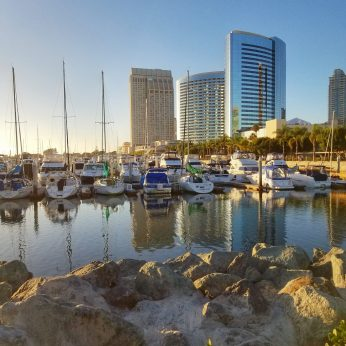 San Diego's waterfront