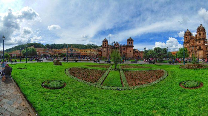 base for Machu Picchu