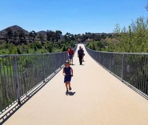 Lake Hodges pedestrian bridge