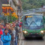 Bus to Machu Picchu