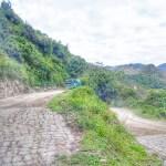 Bus route to Macho Picchu