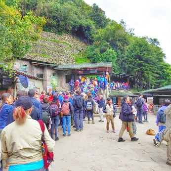 Entry to Machu Picchu