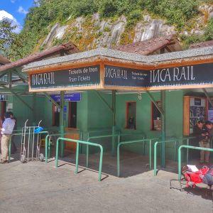 ticket station