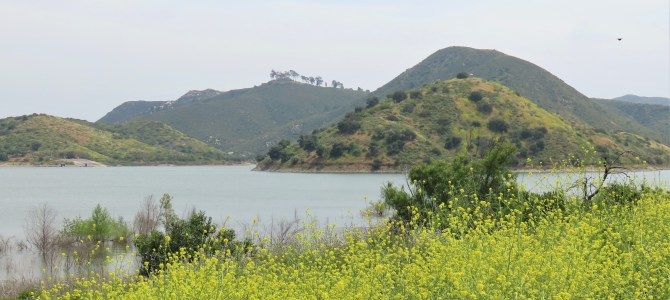 Lake Hodges and the Del Dios Highway