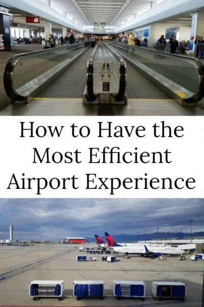 efficient airport experience