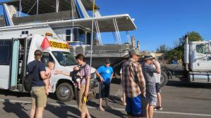 houseboat launch