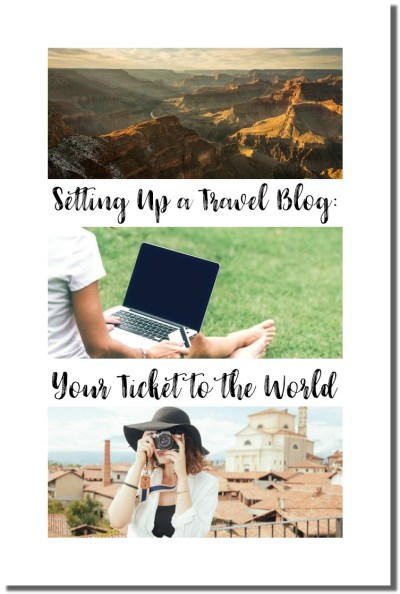 setting up a travel blog