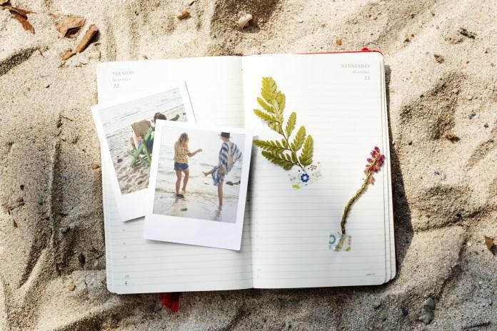 preserving travel memories in a scrapbook