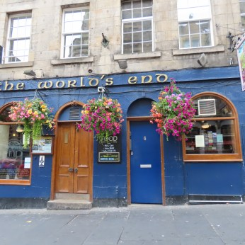 take a tour of Edinburgh and World's End Pub