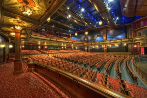 theatre with rows of seats