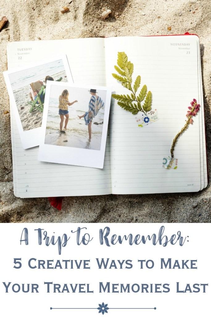 preserving travel memories in scrapbook