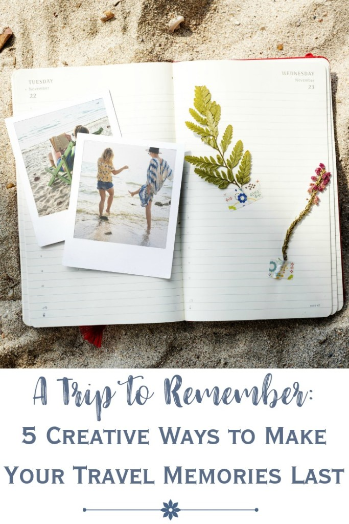 preserving travel memories in scrapbook