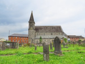 looking around Limerick St Johns church and graveyard