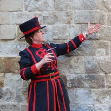 you should visit the tower of london to see Beefeaters