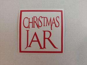 Christmas Jar label