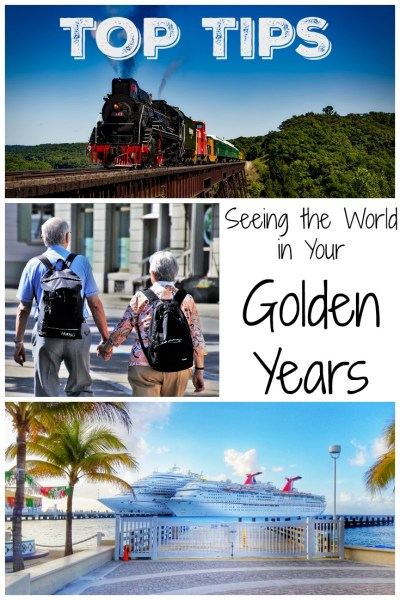 seeing the world in your golden years