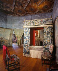 Mary Queen of Scots' bedchamber