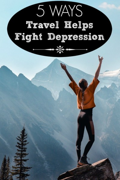 Travel helps fight depression