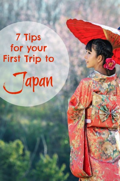 your first trip to Japan