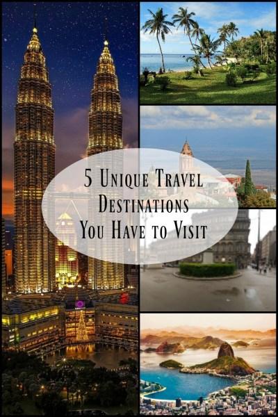 unique travel destinations