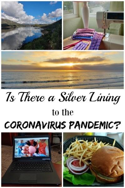 silver lining to the Coronavirus pandemic
