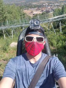 riding coaster