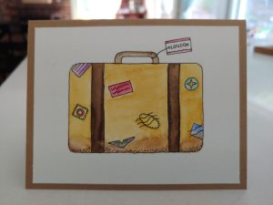 paint your own travel cards