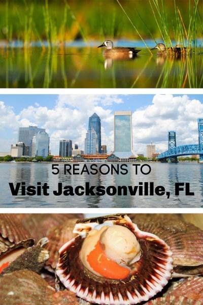 reasons to visit Jacksonville