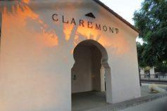 Claremont historic train station