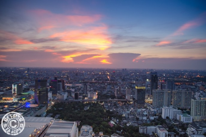 Red Sky Bangkok View