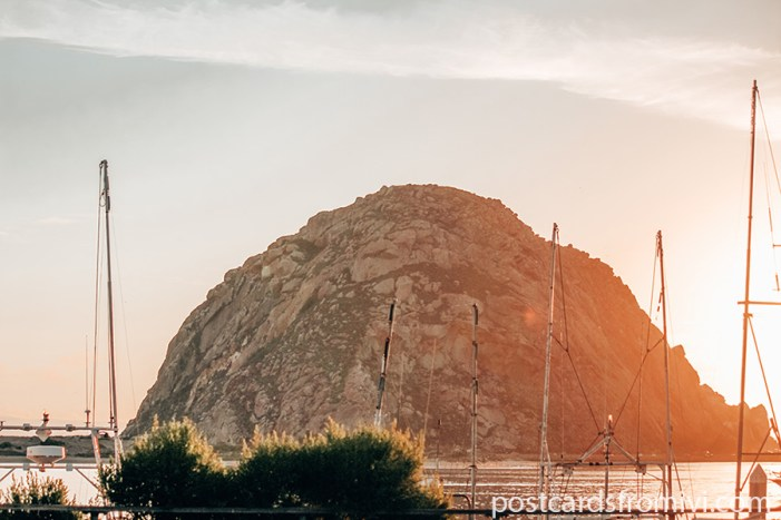 Visiting Morro Bay in California