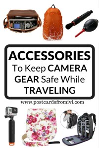 Tips for keeping your camera safe while traveling