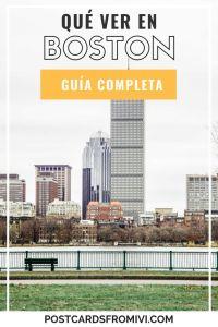 Qué hacer en Boston en 3 días