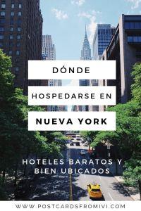 Hoteles baratos y bien ubicados en Nueva York