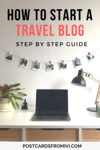 How to start a travel blog and monetize it: A step by step guide