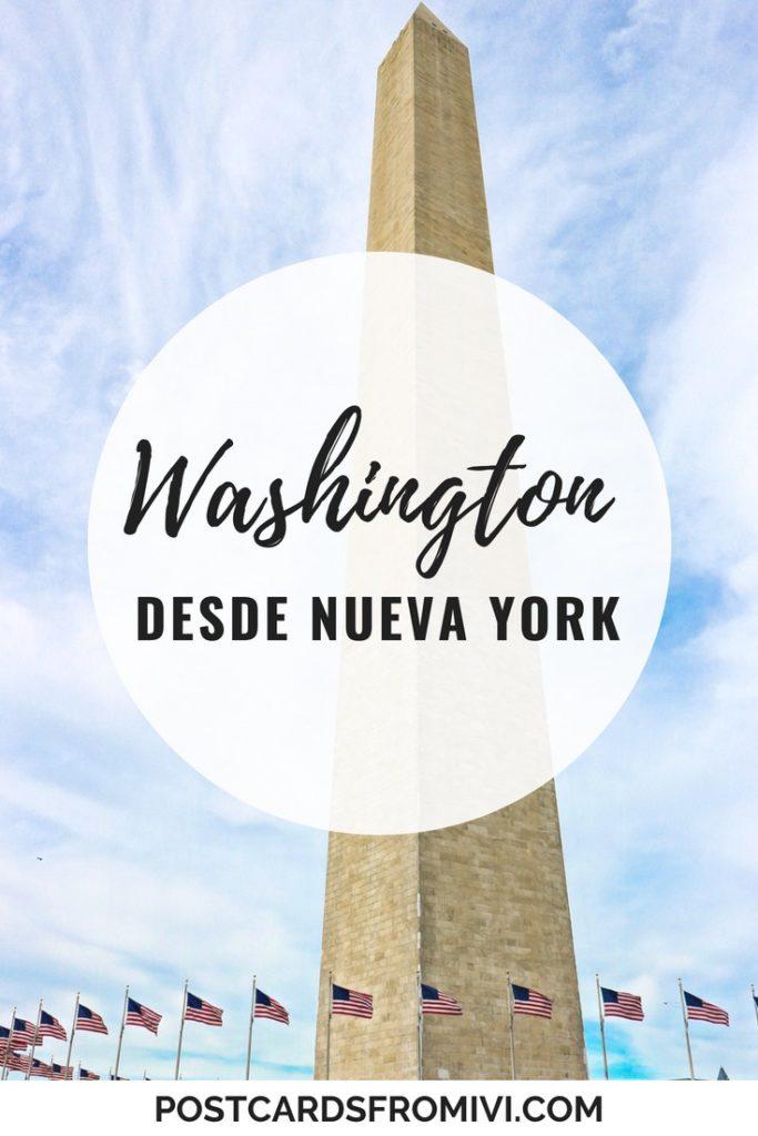 Opciones para visitar Washington desde Nueva York