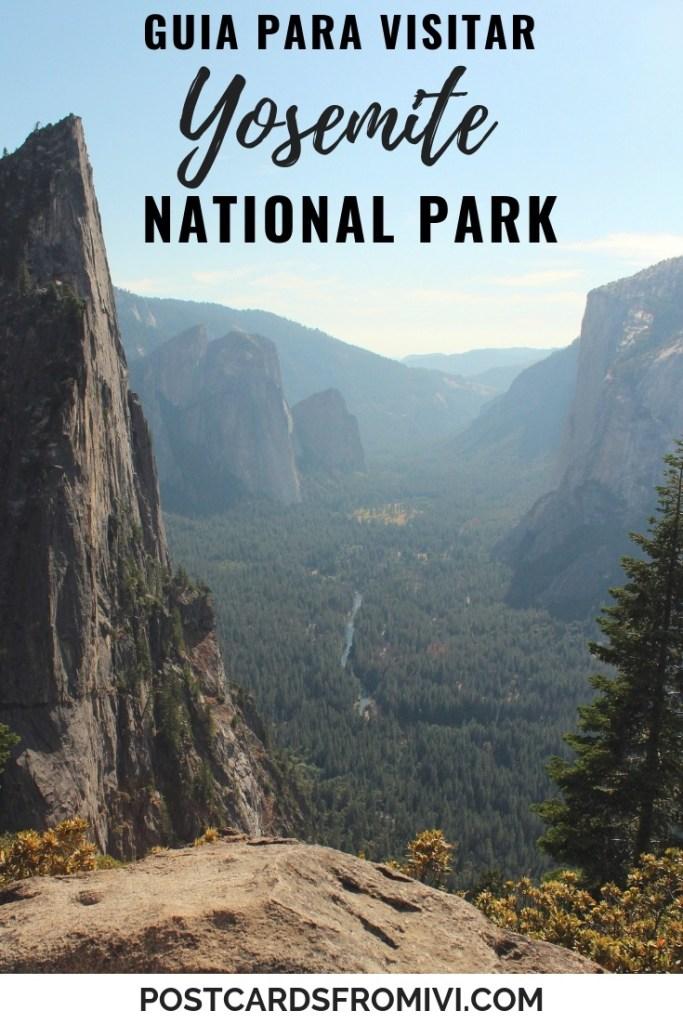 Guia para visitar el parque nacional yosemite en california