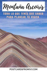 Guía para visitar la Montaña Arcoiris en Perú
