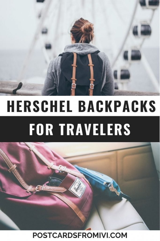 10 Best Herschel backpacks for travelers