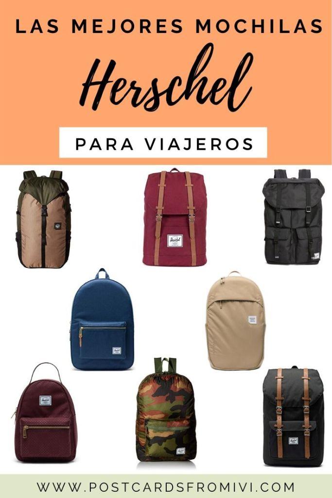 10 mejores mochilas Herschel para viajeros