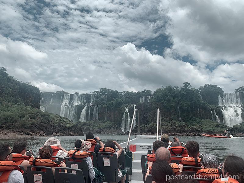Excursión en gomón por las Cataratas del Iguazú