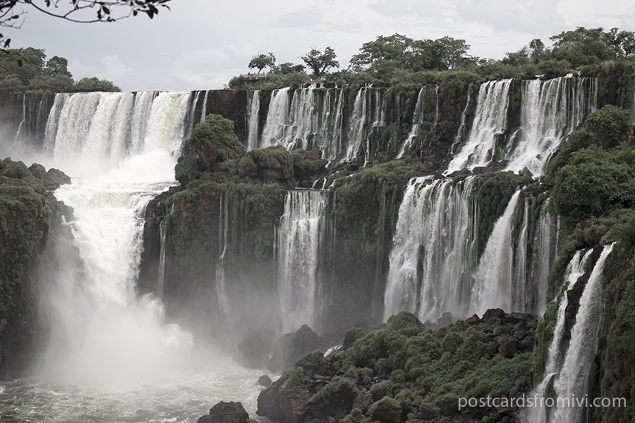Visiting the Iguazu Falls in Argentina