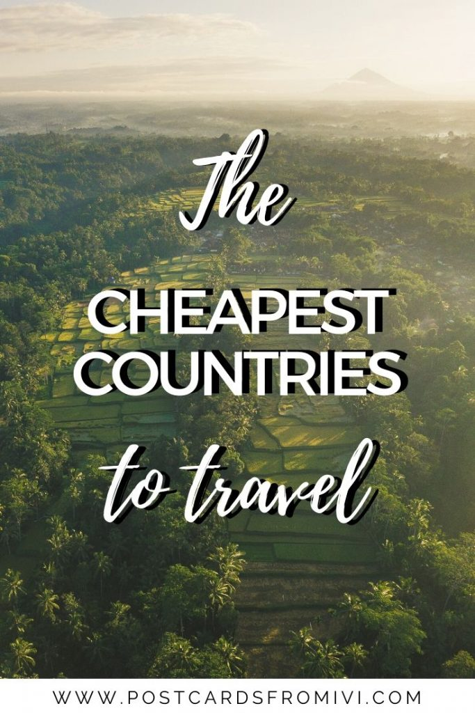 25 cheapest countries to visit in 2020